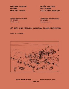 Of Men and Herds in Canadian Plains Prehistory