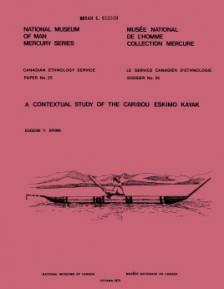 A contextual study of the Caribou Eskimo kayak