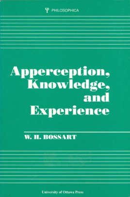 Apperception, Knowledge, and Experience