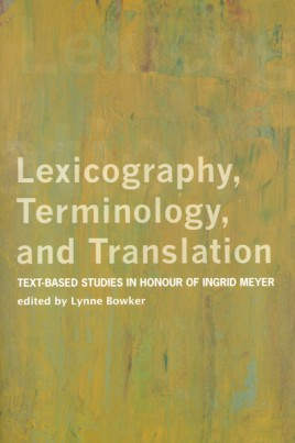 Lexicography, Terminology, and Translation