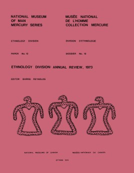 Ethnology Division: Annual review 1974