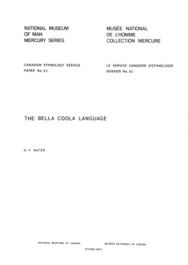 Bella Coola language
