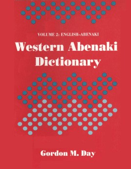 Western Abenaki dictionary: Volume 2