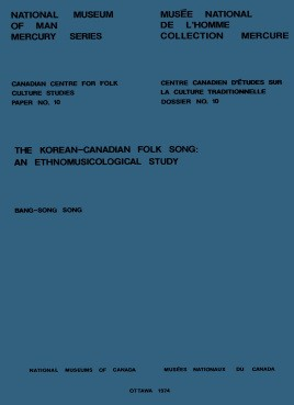 Korean-Canadian folk song