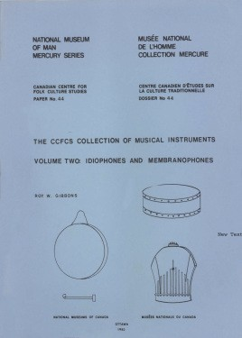 CCFCS collection of musical instruments: Volume 3