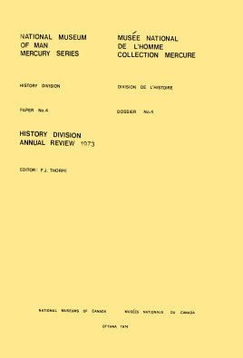 History Division: annual review, 1973