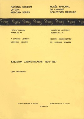 Kingston cabinetmakers, 1800-1867