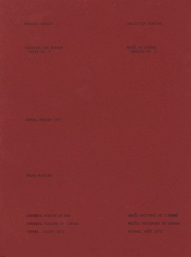 Canadian War Museum: annual review 1972