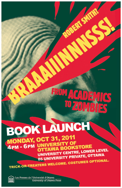 Braaaiiinnnsss! by Robert Smith Book launch